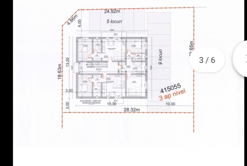 Apartament cu doua camere in Giroc - ID V469 7