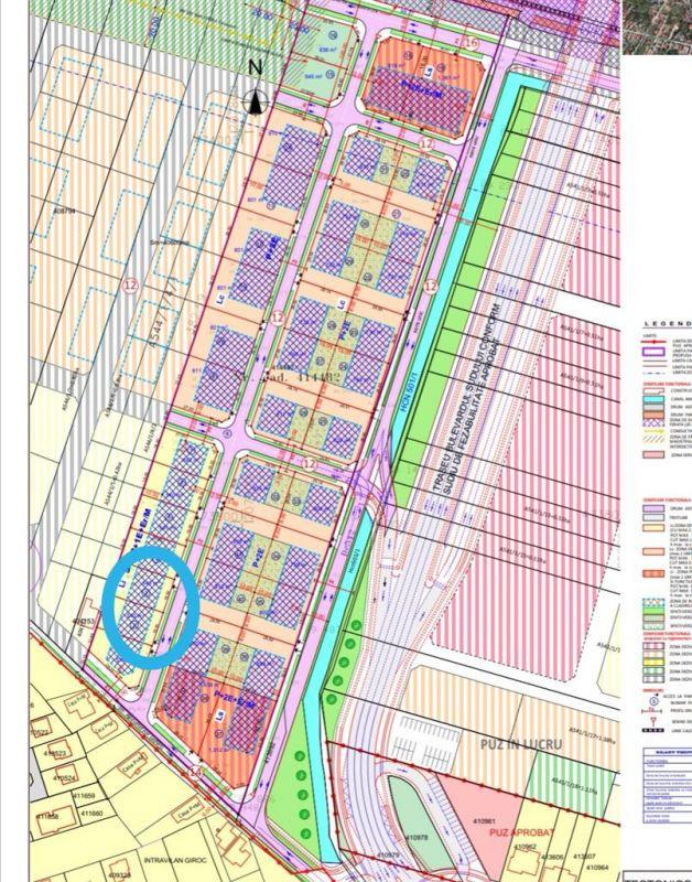 Parcela teren de vanzare in Giroc 540m2 - ID V486 1