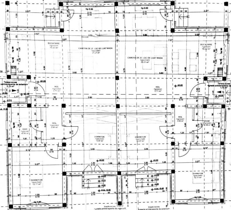 Casa tip duplex 3 camere de vanzare Mosnita Noua - ID V370 15
