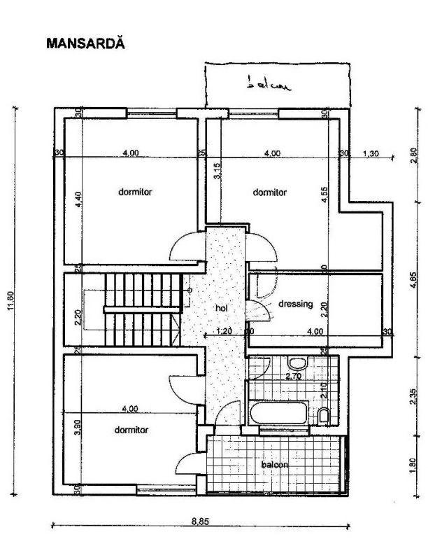 Casa individuala | 6 camere |  Mosnita Noua  6