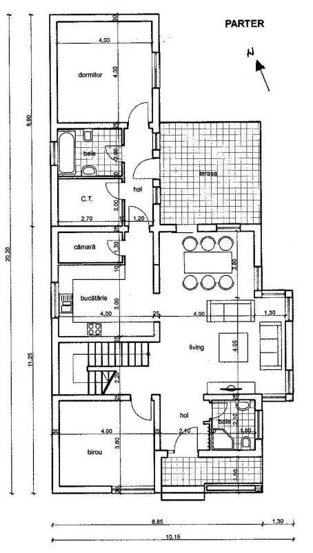 Casa individuala | 6 camere |  Mosnita Noua  7