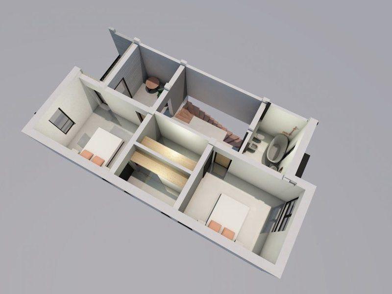Casa tip duplex de vanzare 4 camere Mosnita Noua - ID V332 8