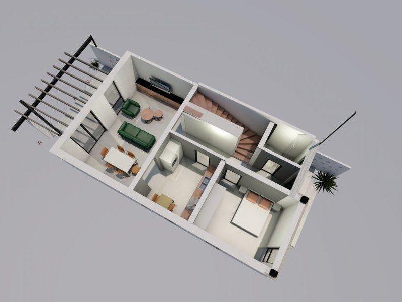 Casa tip duplex de vanzare 4 camere Mosnita Noua - ID V332 9