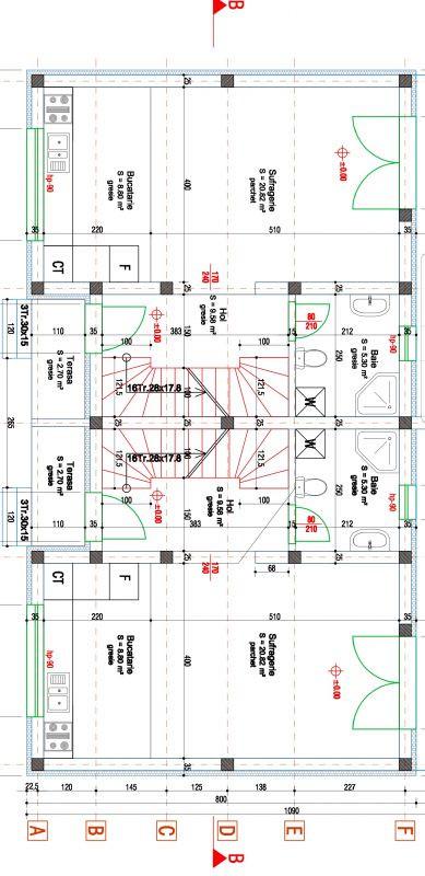 Duplex 3 camere de vanzare Mosnita Noua  11