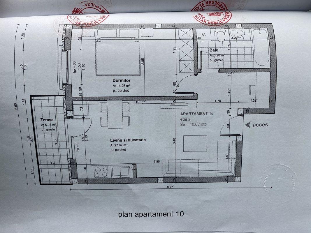 Apartament nou in zona Aradului - V711 3