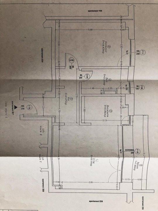 Apartament 2 camere | De vanzre | Semidecomandat | Partial mobilat | 9