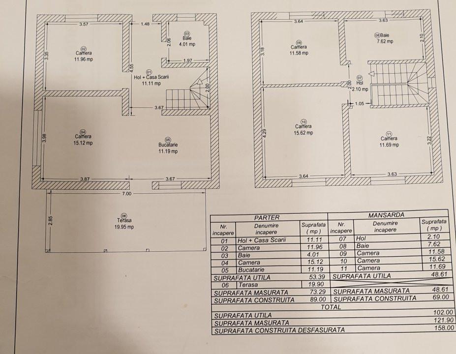 Casa 5 camere de vanzare Mosnita Veche - ID V274 14