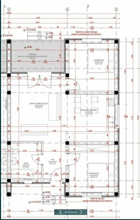 De vanzare 1/2 duplex la cheie in Sanandrei - 0% Comision - ID V765 12