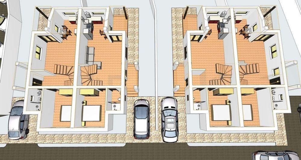 Duplex Giarmata Mare   De vanzare   4 camere  2021   6