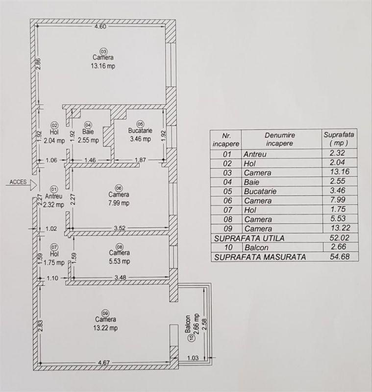Apartament 4 camere de vanzare confort 3 zona Sagului - ID V279 8