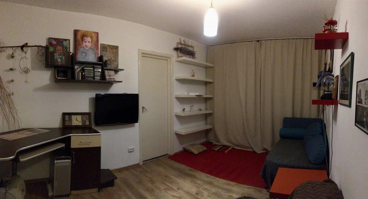Apartament cu 2 camere, semidecomandat, de inchiriat, zona Dacia. 1