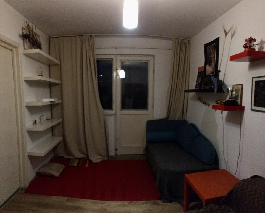 Apartament cu 2 camere, semidecomandat, de inchiriat, zona Dacia. 6