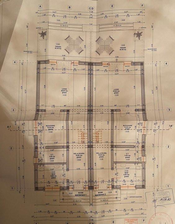 De vanzare 1/2 duplex foarte spatios, cu 4 camere,  in zona Ghiroda  6