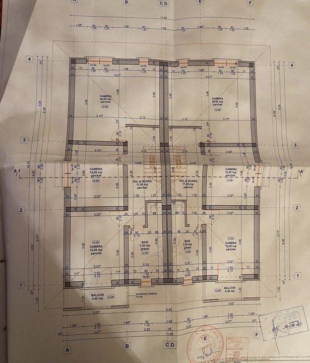 De vanzare 1/2 duplex foarte spatios, cu 4 camere,  in zona Ghiroda  7