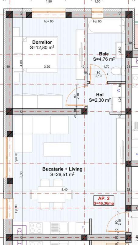 Apartament 2 camere de vanzare in Braytim - ID V116 3