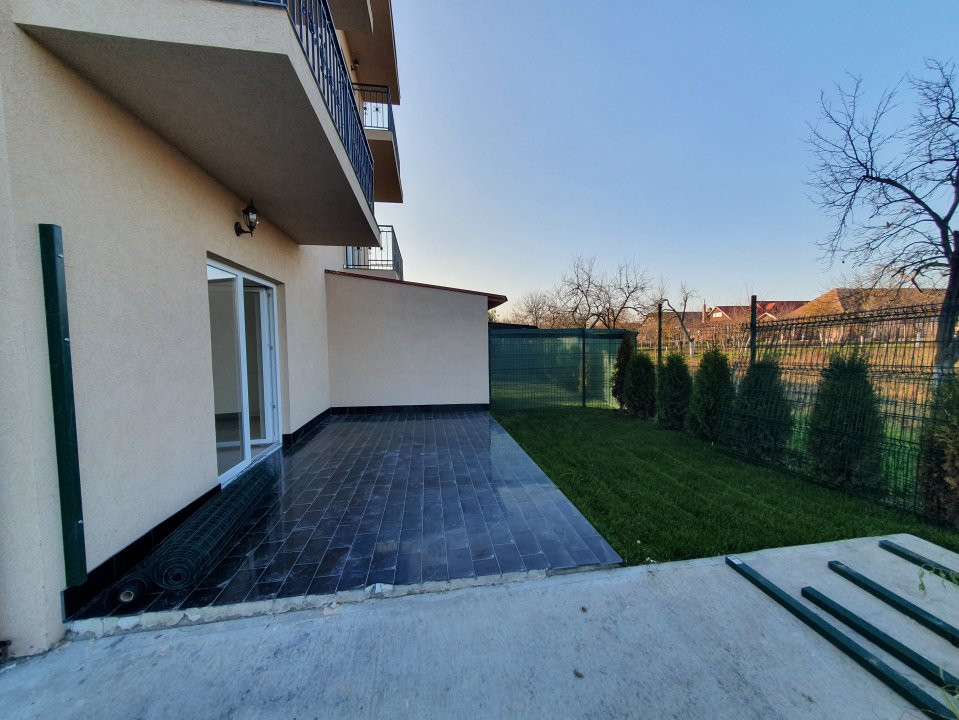 Apartament cu terasa si gradina de vanzare in Sanandrei - V941 9