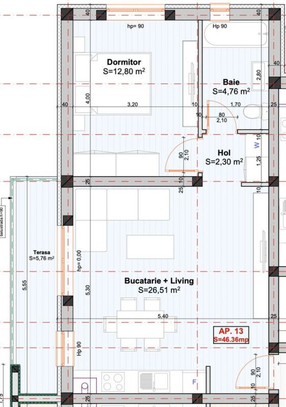 Apartament 2 camere de vanzare in Braytim - Giroc - ID V117 3