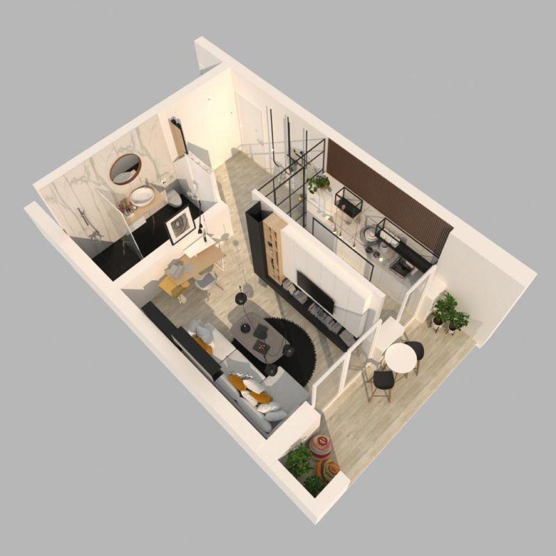 Apartament 2 camere de vanzare in Braytim - Giroc - ID V117 7