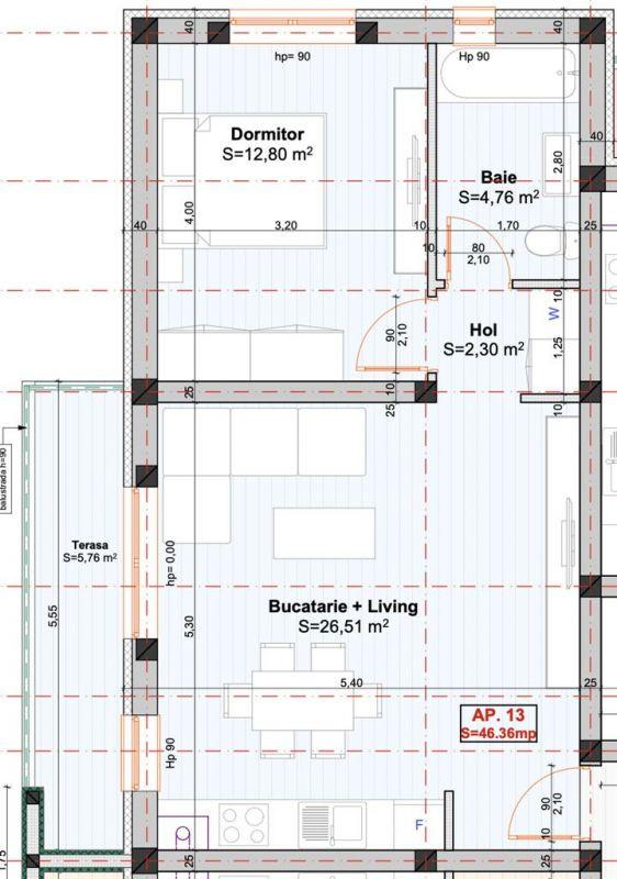Apartament 2 camere de vanzare in Braytim - Giroc - ID V118 3