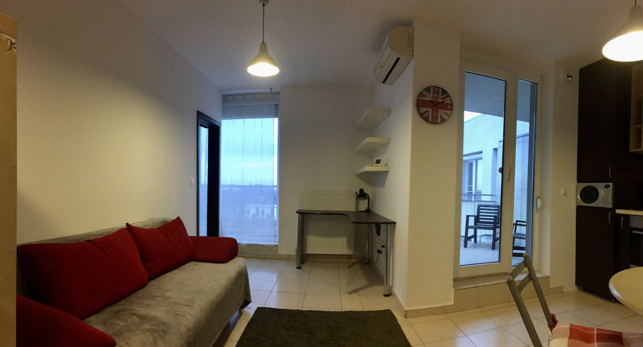 Apartament cu 2 camera, semidecomandat, de inchiriat, zona Aradului. 2