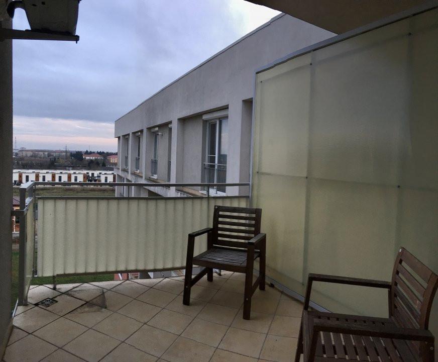 Apartament cu 2 camera, semidecomandat, de inchiriat, zona Aradului. 8