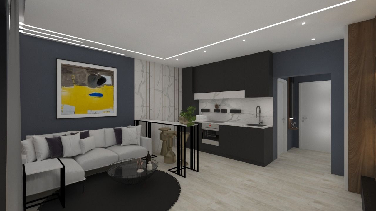 Apartament 1 camera de vanzare in Braytim - Giroc - ID V120 2