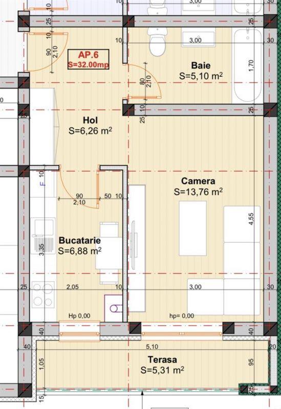 Apartament 1 camera de vanzare in Braytim - Giroc - ID V120 3