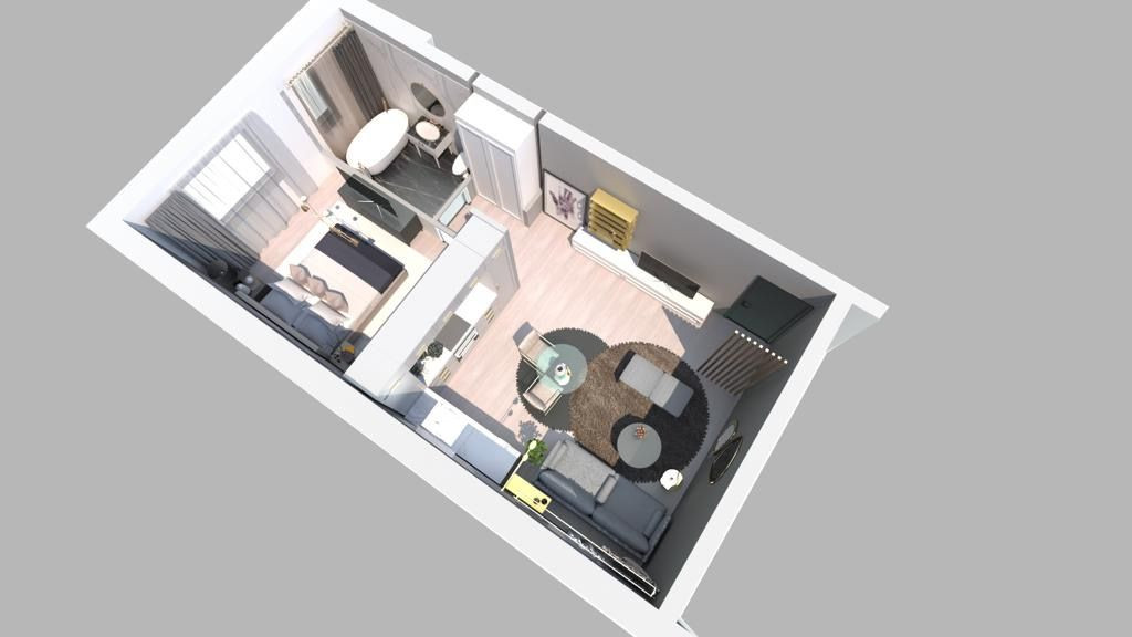 Apartament 1 camera de vanzare in Braytim - Giroc - ID V120 18