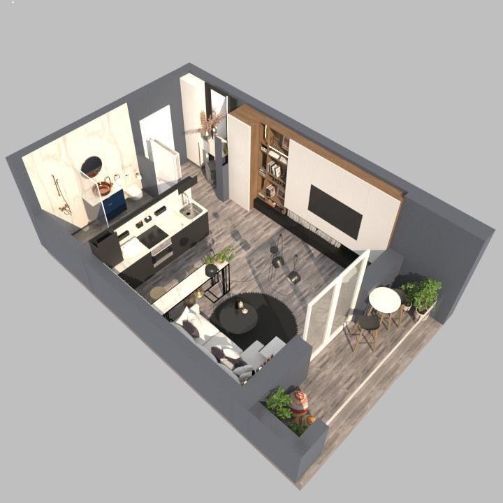 Apartament 1 camera de vanzare in Braytim - Giroc - ID V120 27