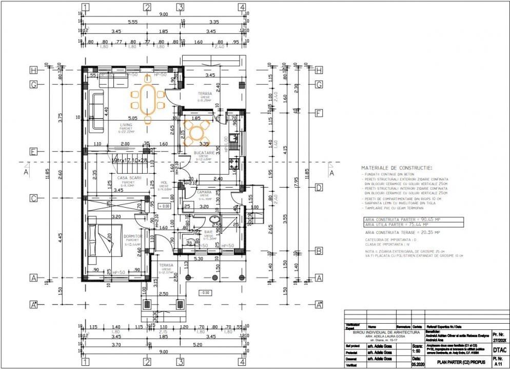 Vand casa individuala la padure - Dumbravita 30