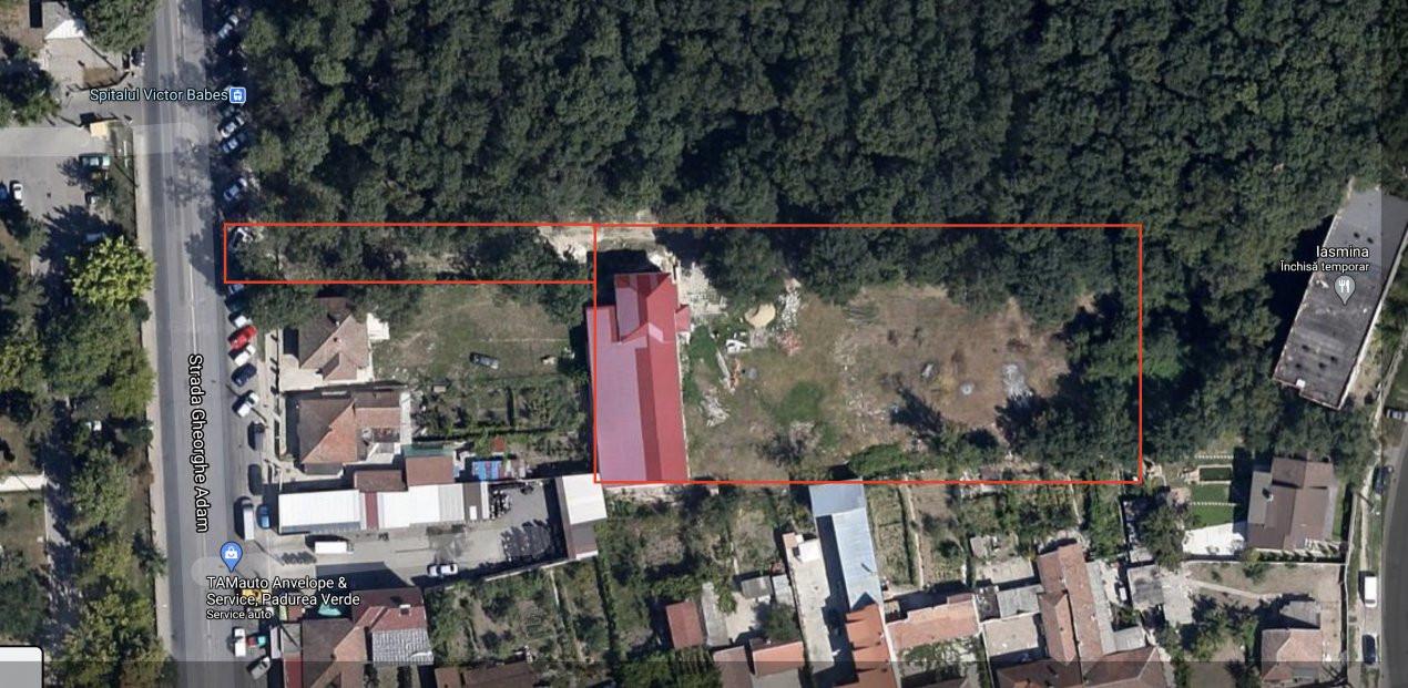 De inchiriat Spatii de birouri + hala depozitare - teren 6.000 mp 1