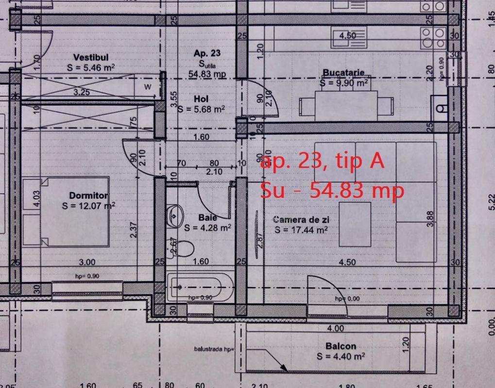 2 camere de vanzare pod loc de parcare GIROC - ID V50 5
