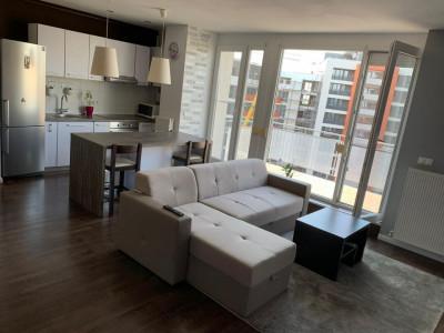 De inchiriat, apartament 2 camere, semidecomandat, Zona Aradului