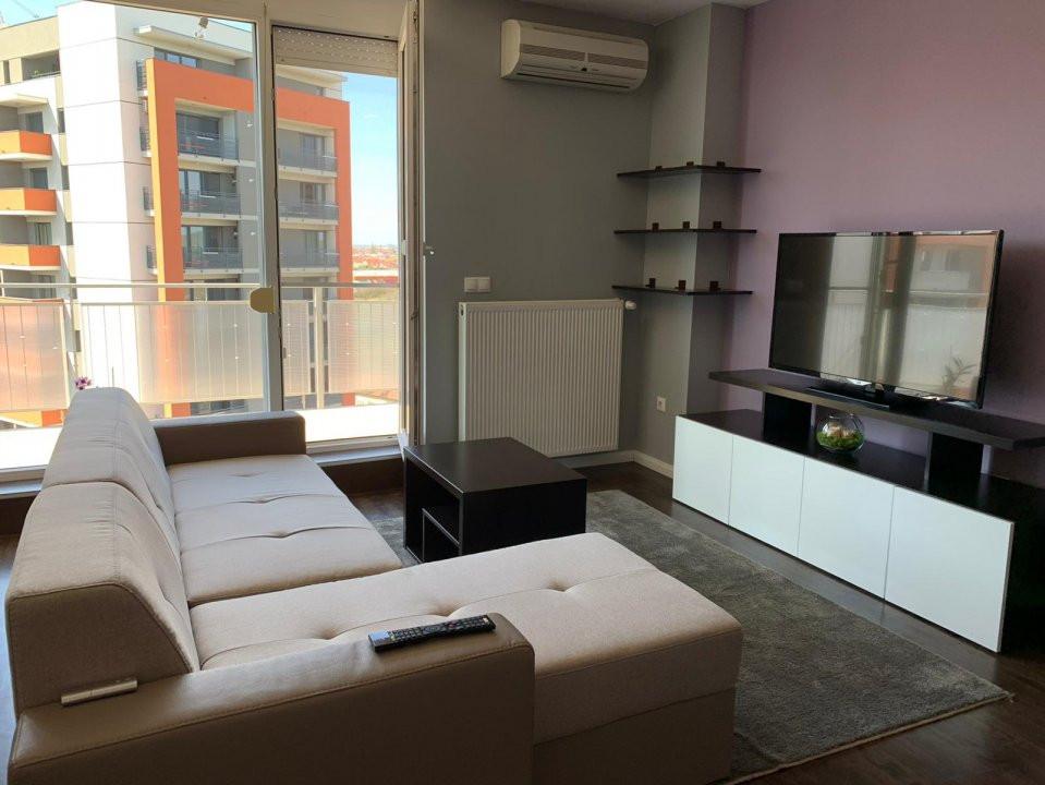 De inchiriat, apartament 2 camere, semidecomandat, Zona Aradului 2