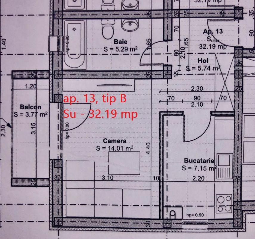 Ap. 1 cameraloc de parcare inclus in GIROC - ID V56 2
