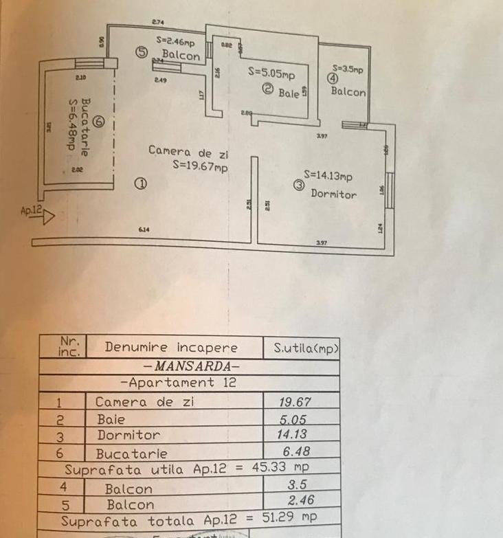 GIROC 2 camere de vanzare- ID V90 11