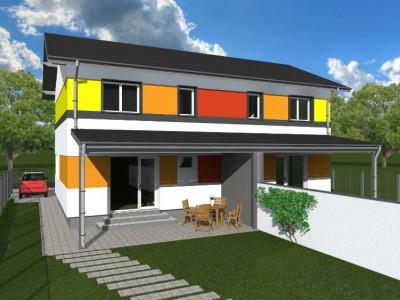 Casa cu etaj 1/2 Duplex Mosnita