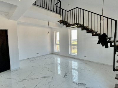 Apartament cu trei camere pe doua niveluri | Etaj 3+M | Giroc | Bloc Nou