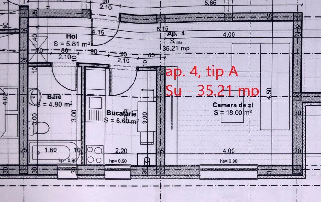 Ap. 1 camera de vanzare loc de parcare in GIROC - ID V42 4